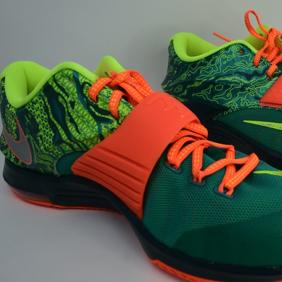 KEVIN DURANT KD VII 7 WEATHERMAN EMERAL 653996-303 c8e532433784